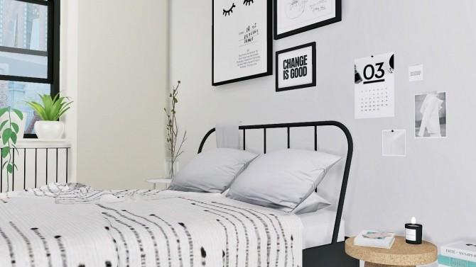 Sims 4 Larina Bedroom at MXIMS