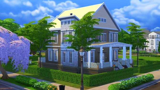 Sims 4 Young Family Dream (No CC) by Brinessa at TSR