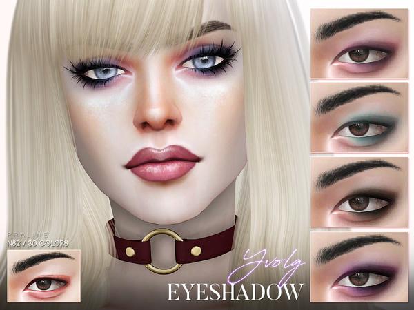 Sims 4 Yvolg Eyeshadow N62 by Pralinesims at TSR