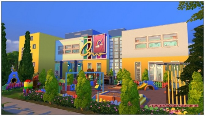 Rainbow kindergarten at Sims by Mulena image 1561 670x380 Sims 4 Updates