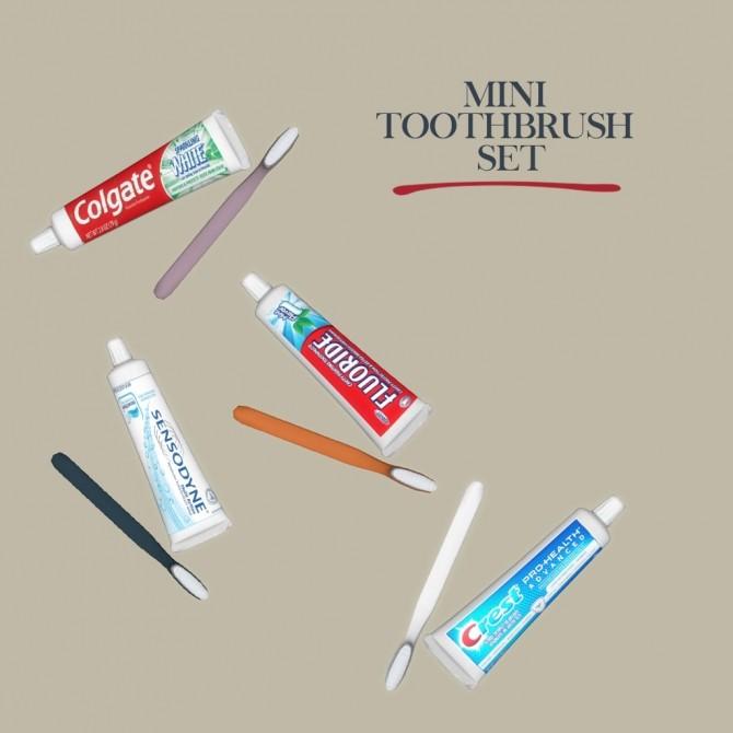Sims 4 Toothbrush Set at Leo Sims