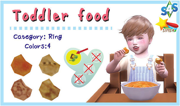 Toddler food at A luckyday image 1565 Sims 4 Updates