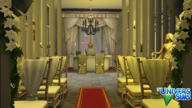 Sims 4 Lhotel de ville by chipie cyrano at L'UniverSims