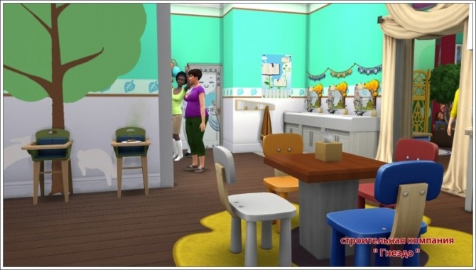 Rainbow kindergarten at Sims by Mulena image 1581 670x380 Sims 4 Updates