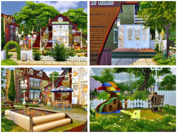 Sims 4 Kindergarten by Danuta720 at TSR