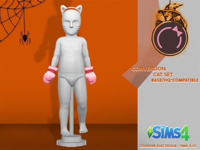Sims 4 CAT SET at REDHEADSIMS