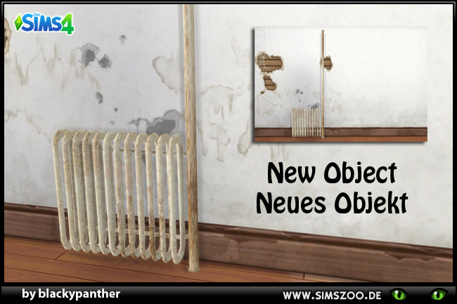 Old radiator by blackypanther at Blacky's Sims Zoo image 1622 Sims 4 Updates