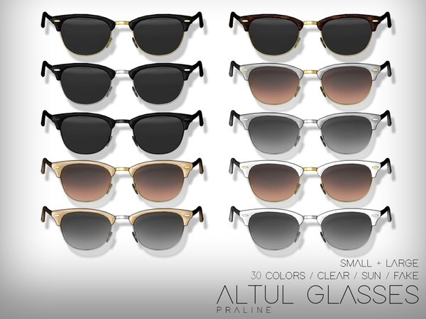 Altul Glasses by Pralinesims at TSR image 1624 Sims 4 Updates