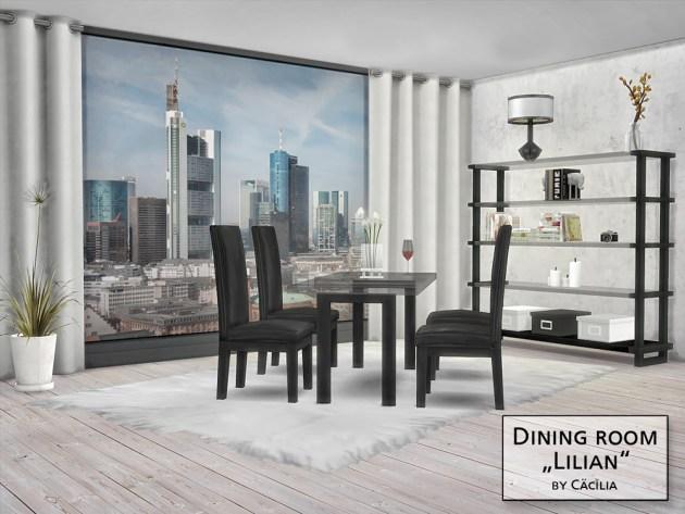 Lilian Diningroom by Cäcilia at Akisima image 1641 Sims 4 Updates