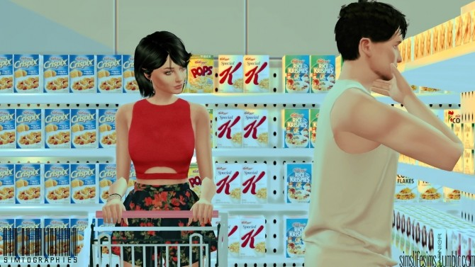 Market Poses 01 by simtographies at Sims Life Sims image 1642 670x377 Sims 4 Updates
