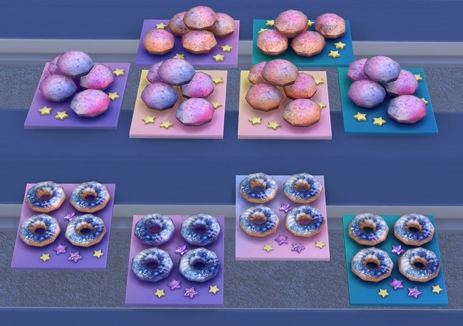 Galaxy Set At Soloriya 187 Sims 4 Updates