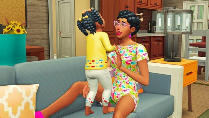 Mommy & Toddler Laugh Pose Pack at Josie Simblr image 1682 670x377 Sims 4 Updates