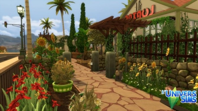 The Oasis Gardens by chipie cyrano at L'UniverSims image 169 670x377 Sims 4 Updates