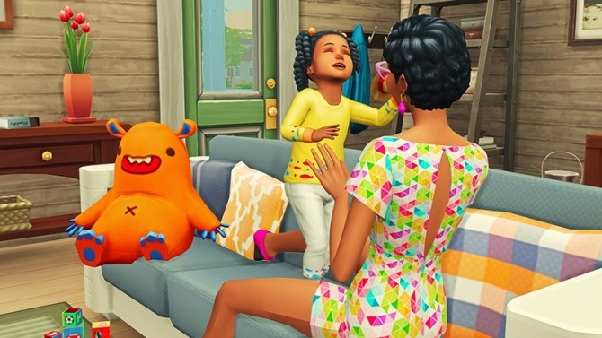 Mommy & Toddler Laugh Pose Pack at Josie Simblr image 1692 670x377 Sims 4 Updates