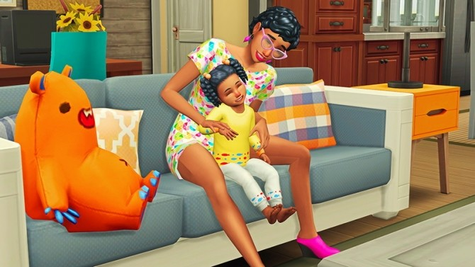 Mommy & Toddler Laugh Pose Pack at Josie Simblr image 1702 670x377 Sims 4 Updates