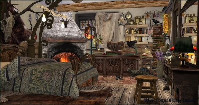 House Of The Forest Witch At Tanitas8 Sims 187 Sims 4 Updates