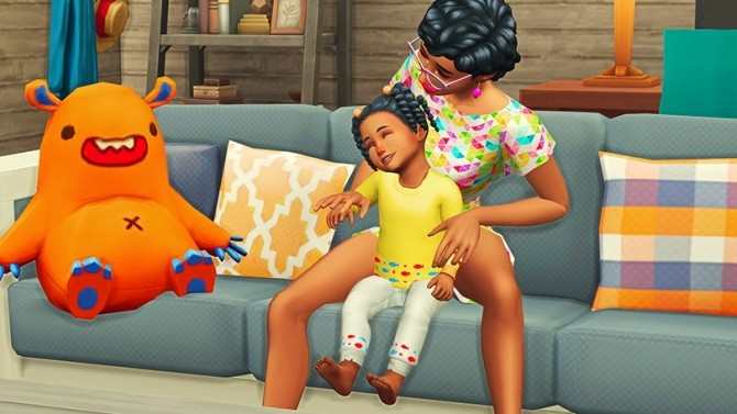 Mommy & Toddler Laugh Pose Pack at Josie Simblr image 1714 670x377 Sims 4 Updates