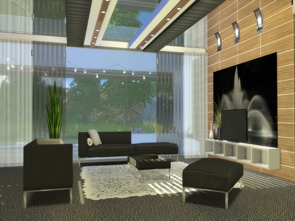 Sims 4 Aurelia house by Suzz86 at TSR
