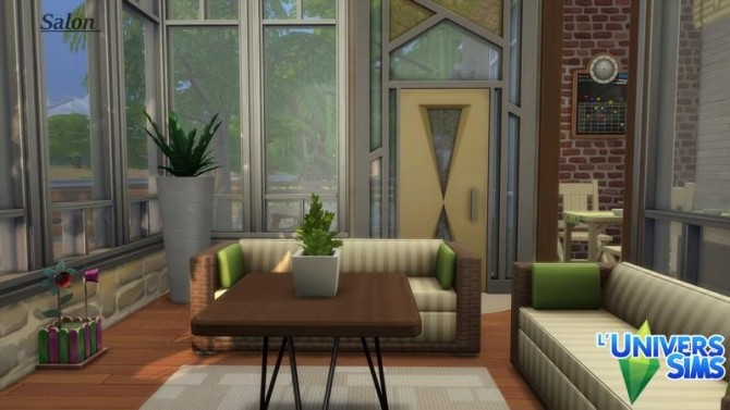 Base Challenge Summer 2017 house by chipie cyrano at L'UniverSims image 173 670x377 Sims 4 Updates