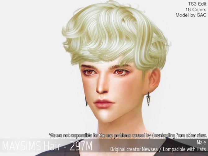 Hair 297M (Newsea) at May Sims image 1751 670x503 Sims 4 Updates