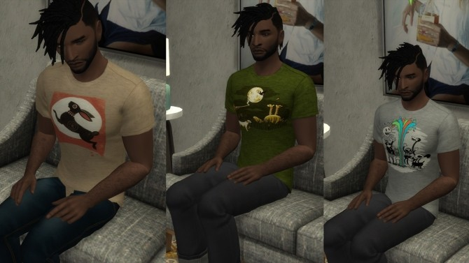 Two tee shirt styles at Baufive – braces image 1862 670x377 Sims 4 Updates