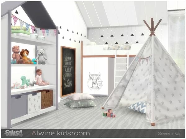 Alwine kidsroom by Severinka at TSR image 1863 Sims 4 Updates