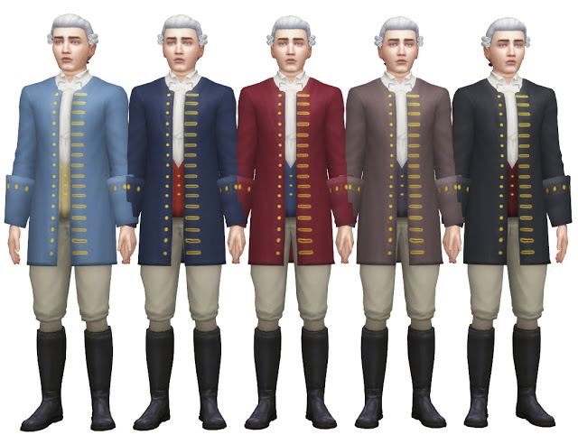 Sims 4 TS3 to TS4 Hunting Expedition Outfit at Historical Sims Life