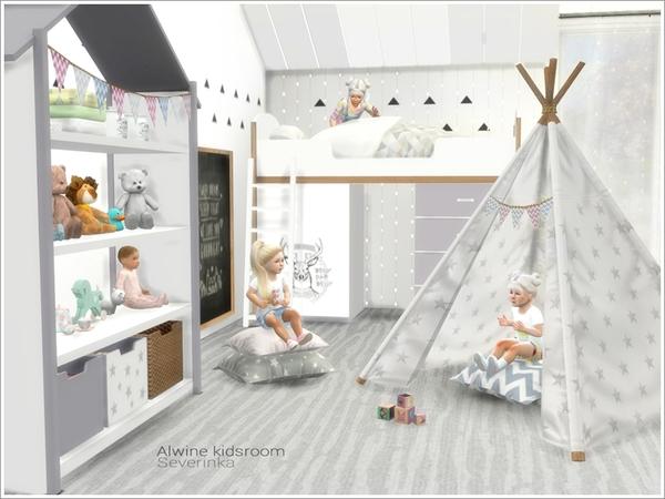 Alwine kidsroom by Severinka at TSR image 1873 Sims 4 Updates