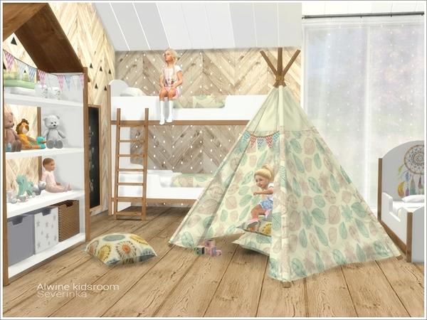 Alwine kidsroom by Severinka at TSR image 1893 Sims 4 Updates