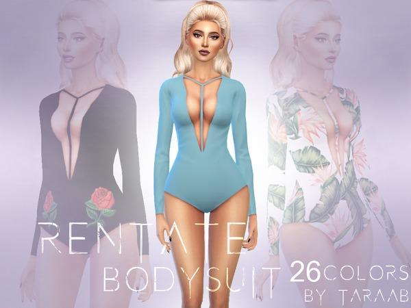 Rentate Bodysuit by taraab at TSR image 1913 Sims 4 Updates