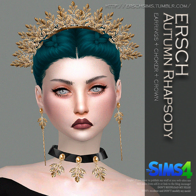 Autumn Rhapsody Set At Ersch Sims 187 Sims 4 Updates