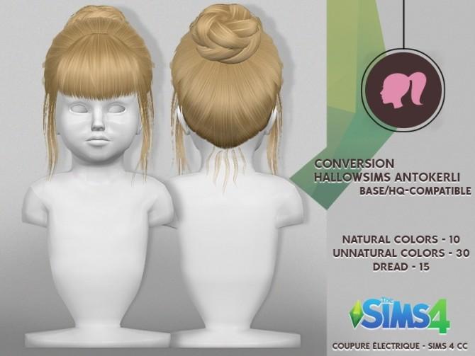 Sims 4 HALLOW SIMS ANTO KERLI HAIR at REDHEADSIMS