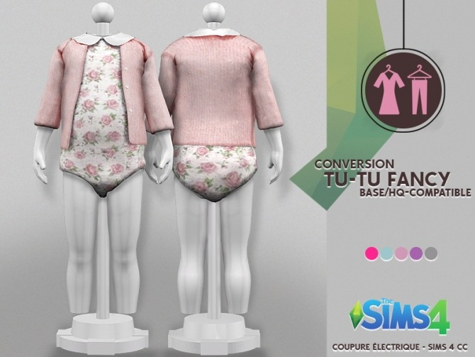 Sims 4 TU TU FANCY at REDHEADSIMS