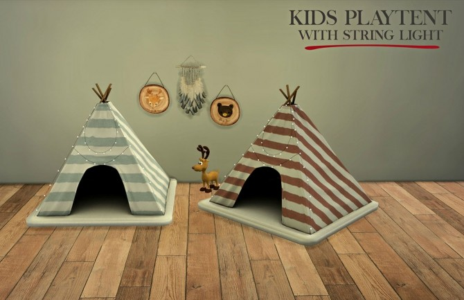 Kids Playtent at Leo Sims image 2001 670x433 Sims 4 Updates