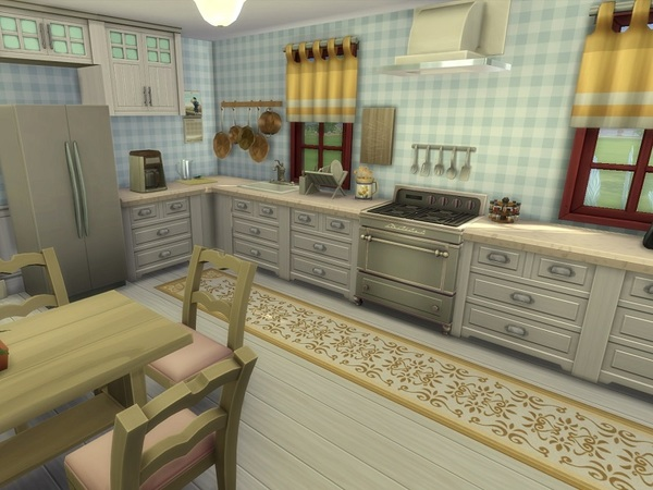 Sims 4 Blooming Cottage by galadrijella at TSR