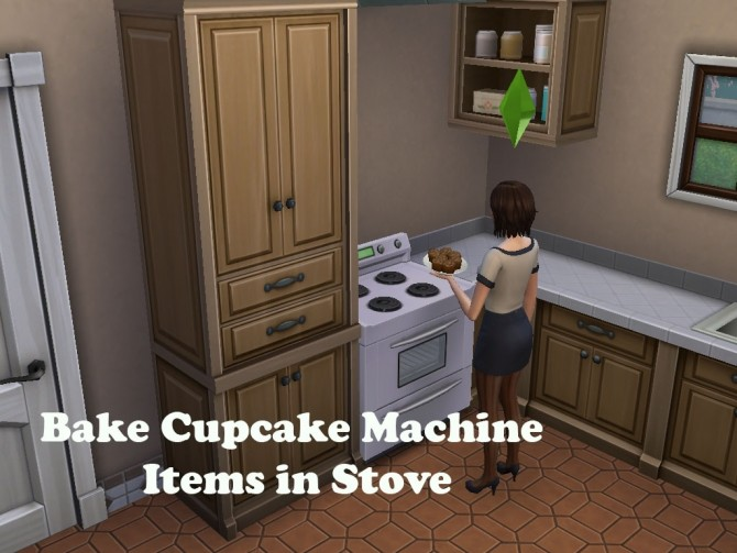 Bake Cupcake Machine Items in Oven by emilypl27 at Mod The Sims image 2052 670x503 Sims 4 Updates