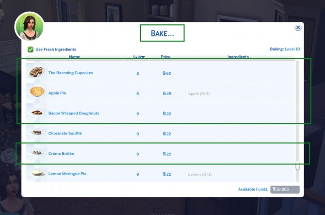Bake Cupcake Machine Items in Oven by emilypl27 at Mod The Sims image 2062 670x443 Sims 4 Updates