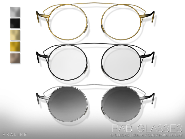PAB Glasses by Pralinesims at TSR image 2107 Sims 4 Updates