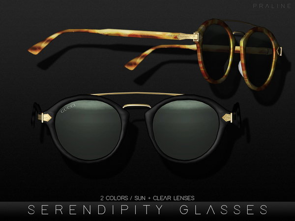 Serendipity Glasses by Pralinesims at TSR image 2108 Sims 4 Updates