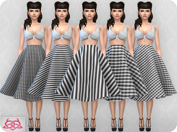 Vintage Basic skirt 2 RECOLOR 2 by Colores Urbanos at TSR image 2123 Sims 4 Updates