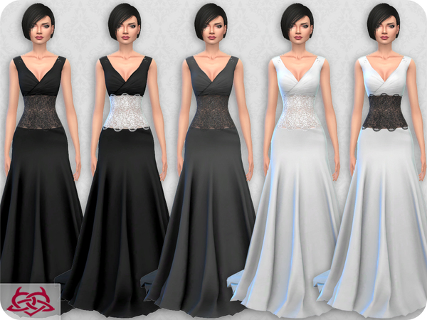 Wedding Dress 10 RECOLOR 1 by Colores Urbanos at TSR image 2133 Sims 4 Updates