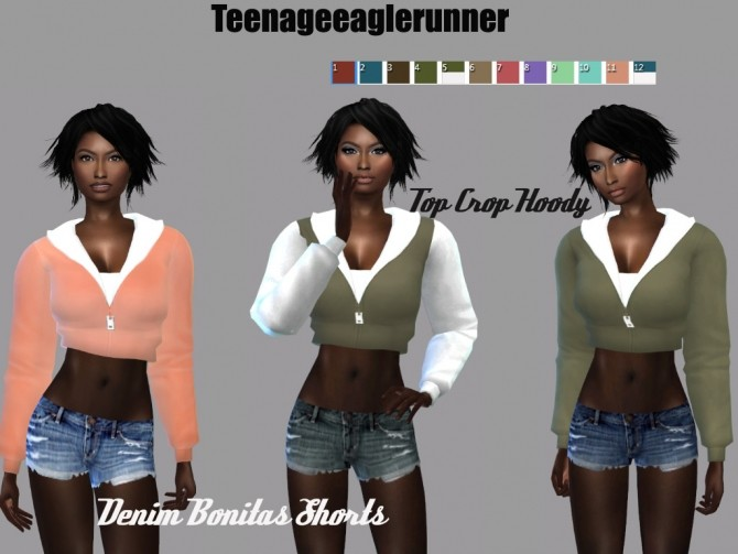 Sims 4 Top Idol Collection at Teenageeaglerunner