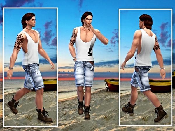 Ryan Scott by casmar at TSR image 2153 Sims 4 Updates