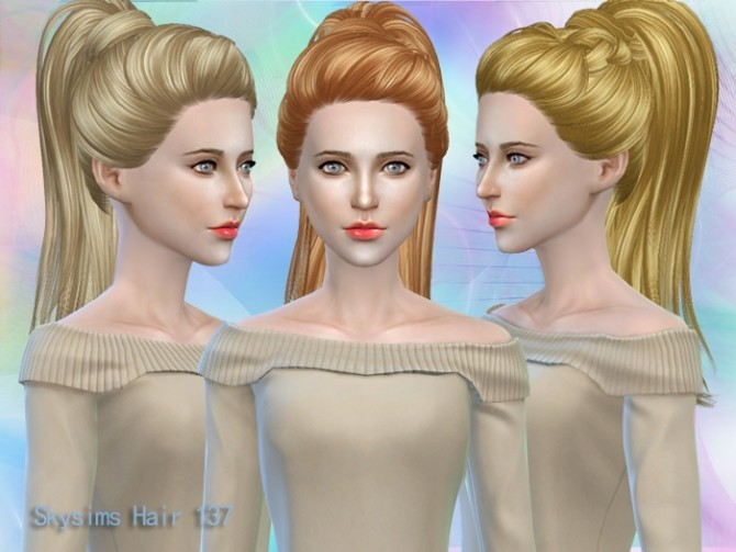 Sims 4 Hair 137 by Skysims at Butterfly Sims