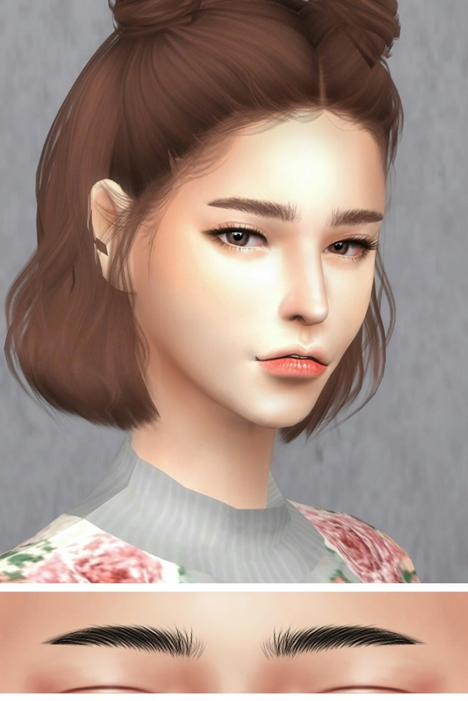 Gpme F Eyebrows 1 Set At Goppols Me 187 Sims 4 Updates