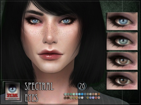 Sims 4 Spectral Eyes by RemusSirion at TSR