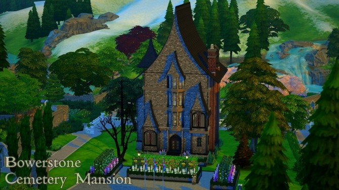 Bowerstone Cemetery Mansion by Tx Slade xT at Mod The Sims image 2216 670x377 Sims 4 Updates