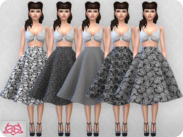 Vintage Basic skirt 2 RECOLOR 2 by Colores Urbanos at TSR image 2223 Sims 4 Updates