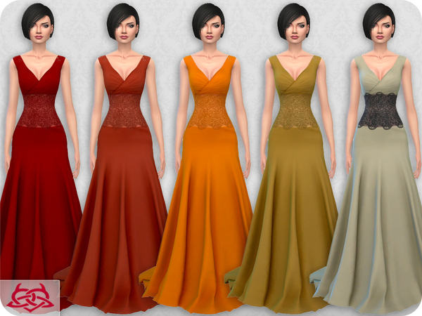 Wedding Dress 10 RECOLOR 1 by Colores Urbanos at TSR image 2229 Sims 4 Updates