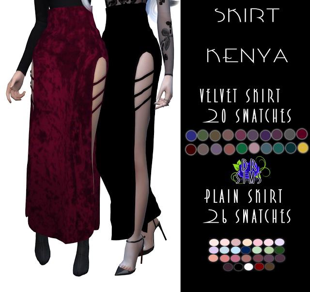 KENYA SKIRT at BlueRose Sims image 2261 Sims 4 Updates